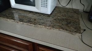 Pretty Marble Piece Kitchen island Countertop for Sale in Puyallup, WA