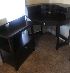 Corner desk and cabinet for Sale in Herriman, UT