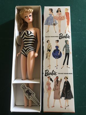 Barbie Special Edition Reproduction From 1959 doll No.850 Blond for Sale in Fair Oaks, CA