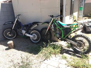 99 yz250 and 01 kx125 for Sale in Tolleson, AZ