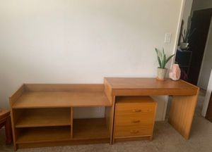 Modular desk/ Entertainment center for Sale in San Jose, CA
