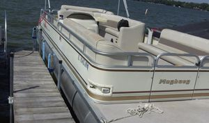 2004 Playbouy 24ft Pontoon Boat for Sale in Third Lake, IL