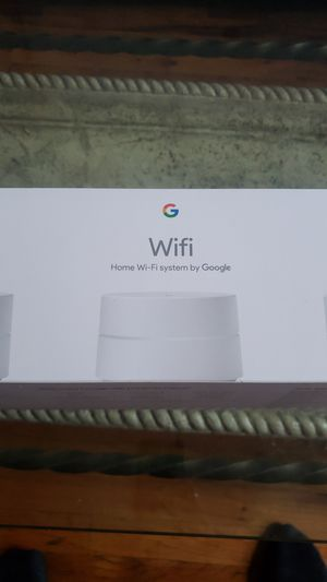 Google wifi home router for Sale in Queens, NY