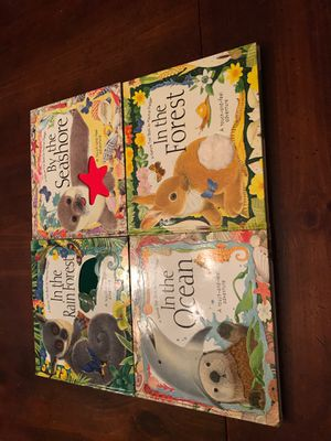 4 Hard Covered Nature Trail Books by Maurice Pledger for Sale in GARDEN CITY P, NY