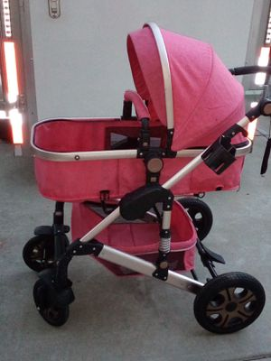 Stroller , with car seat and crib. for Sale in Stockton, CA
