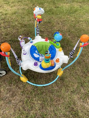 Graco swing set baby Einstein jump set and graco car seat stroller combo in excellent condition for Sale in Spartanburg, SC