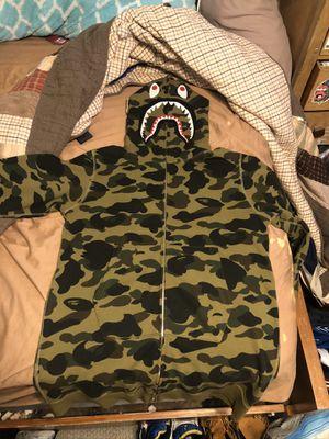 Bape shark hoodie long version [read description] for Sale in La Mesa, CA