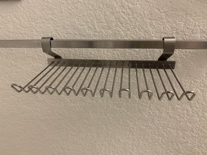 IKEA Grundtal stainless hanging shelves ( 2 pieces) for Sale in Winter Garden, FL