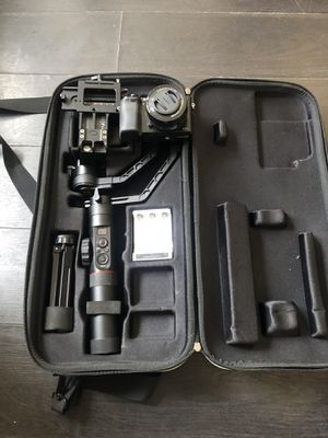 Zhiyun Crane 2 gimbal stabilizer camera included for Sale in Los Angeles, CA