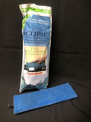 aquarium filter pads -ECLIPSE - size C ( 3pk+1 for Sale in Phillips Ranch, CA