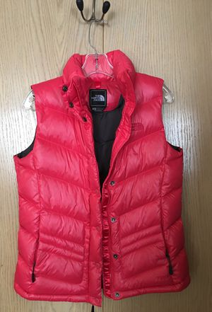 North Face size Medium red women's vest for Sale in Mukilteo, WA