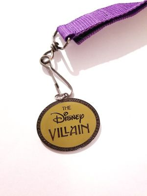 Disney Villains pin lanyard for Sale in Downey, CA
