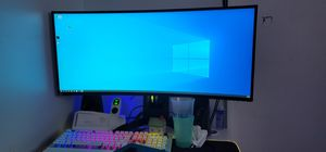 Alienware 34in curve monitor wqhd for Sale in The Bronx, NY