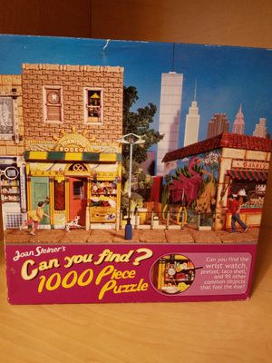 Joan Steiner's Can You Find? Puzzle for Sale in Woodburn, OR