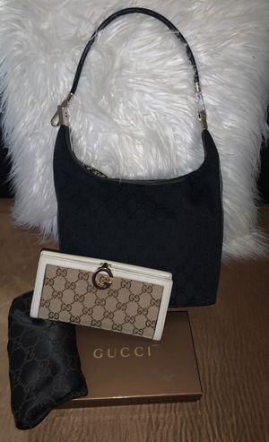 Pre-owned: Authentic GUCCI Purse & Wallet Set $430 for Sale in Aiea, HI