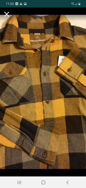 Boys Flannel Shirt Large for Sale in Grover Beach, CA