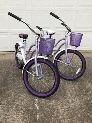 "TWIN girls cruiser bikes. 20"" for Sale in Woodburn, OR"