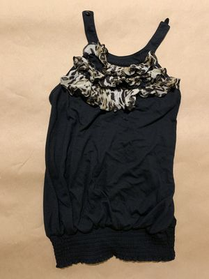 Halter black top size 6 for Sale in Gaithersburg, MD
