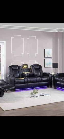 LED Recliner With Leather Seats for Sale in Redford Charter Township,  MI