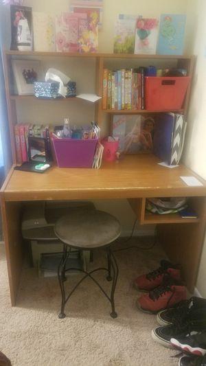 Wooden Desk for Sale in Laurel, MD