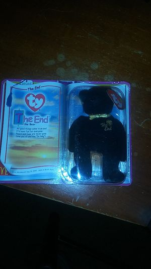 The end bear beanie baby for Sale in Phoenix, AZ