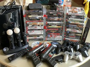PlayStation 3 set with a couple games. for Sale in Bowie, MD