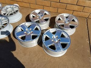 Set Of 4 Oem Jeep Rubicon 18 x 7.5 Wheels Aluminum for Sale in Rancho Cucamonga, CA