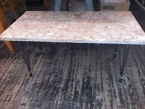 Antique salvaged marble coffee table for Sale in Brooklyn, NY