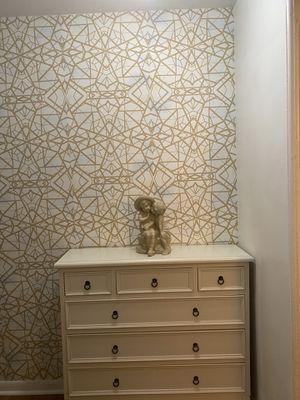 beige entry way wooden dresser for Sale in Highland Hills, OH