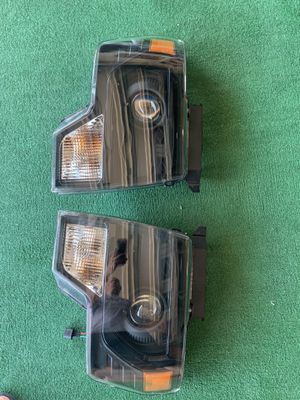 Ford F-150 aftermarket headlights Ford F-150 SVT projector style headlights. 2009-14 with tail lights. $100 for Sale in San Dimas, CA