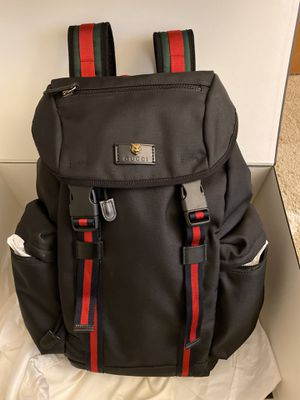 Gucci techno canvas backpack for Sale in Seattle, WA