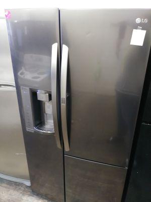 black stainless steel LG door in door for Sale in Cleveland, OH