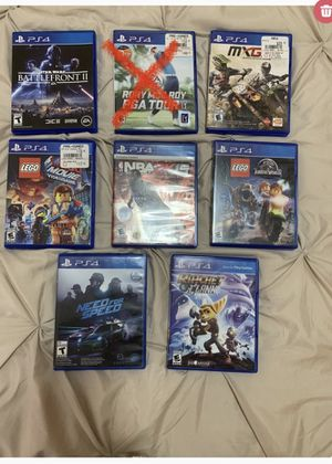 PS4 games - individually sold for Sale in Zelienople, PA