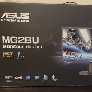 ASUS MG28UQ 4K/UHD 28-Inch FreeSync Gaming Monitor for Sale in Chandler, AZ