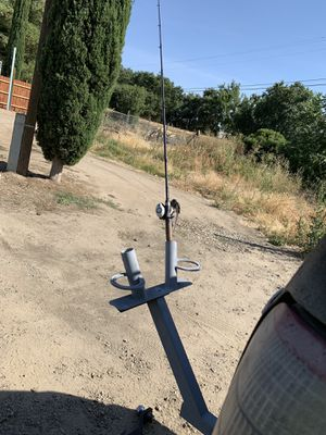 Custom Fishing Rod Holder/Beer Holder for Sale in Discovery Bay, CA