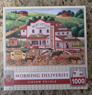 Morning Deliveries 1000 pc Puzzle for Sale in Wayne, NJ