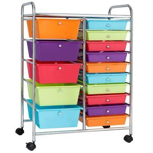 Brand New In Box 15 Drawer Rolling Storage Cart for Sale in Los Angeles, CA