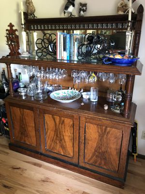Antique buffet/China Cubbard for Sale in Portland, OR