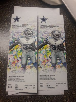 Preseason Game for Sale in Irving, TX