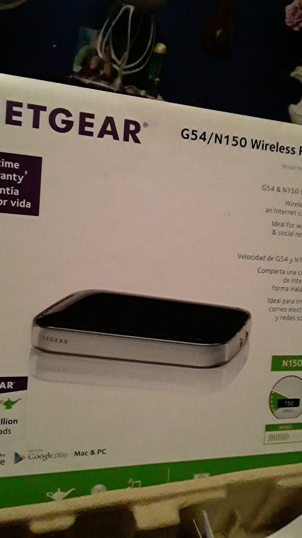 Netgear g54 /N150 wireless router