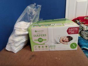 129 Newborn diapers Sam's club brand for Sale in Jersey Village, TX