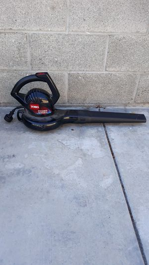Toro leaf blower for Sale in Santa Ana, CA