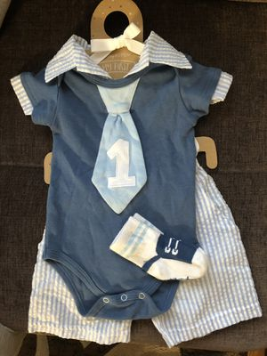 Used, Baby Aspen My First Birthday Outfit for Sale for sale  Skokie, IL