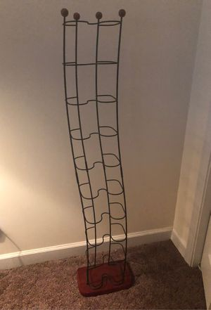 Wire wood stand CD rack. for Sale in Simpsonville, SC