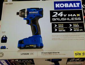 "Kobalt brushless 1/4"" impact Driver for Sale in Anderson, SC"