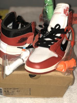 Off White Chicago 1's size 9.5 for Sale in Fort Washington, MD