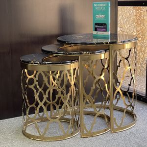 Coffee Table 3 pC (($39)) Down Payment for Sale in Dallas, TX
