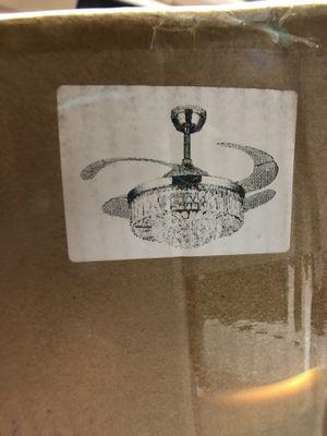 Ceiling Fan/Chandelier for Sale in Rancho Cucamonga, CA