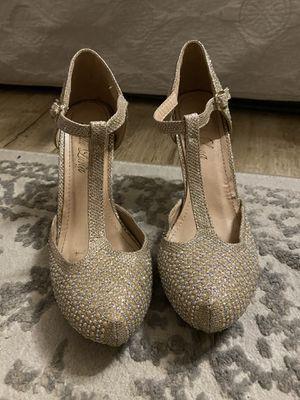 Glitter heels for Sale in Fontana, CA