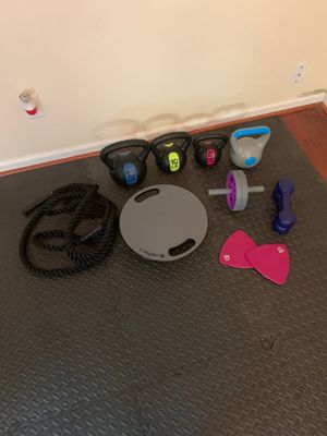 Workout equipment for Sale in Newport News, VA